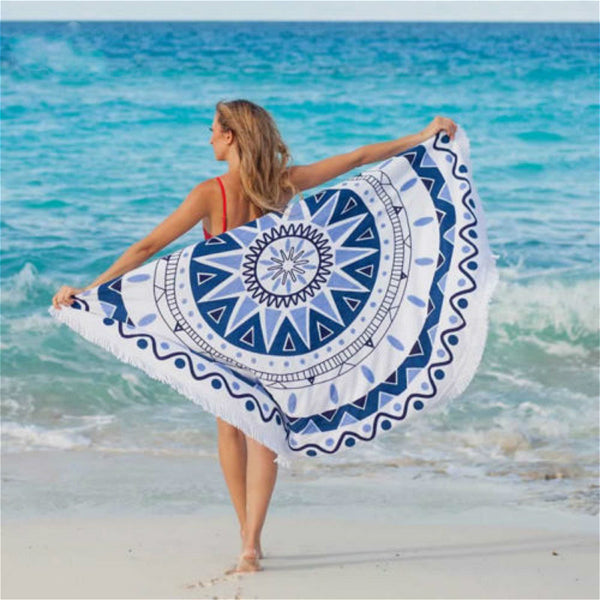 Clearance Mandala Round Beach Towel-Rama Deals