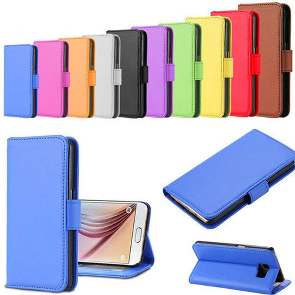 Clearance PU Wallet Leather Case for Samsung S6-Rama Deals