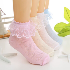 Princess Lace Short Cotton Socks - Rama Deals - 1