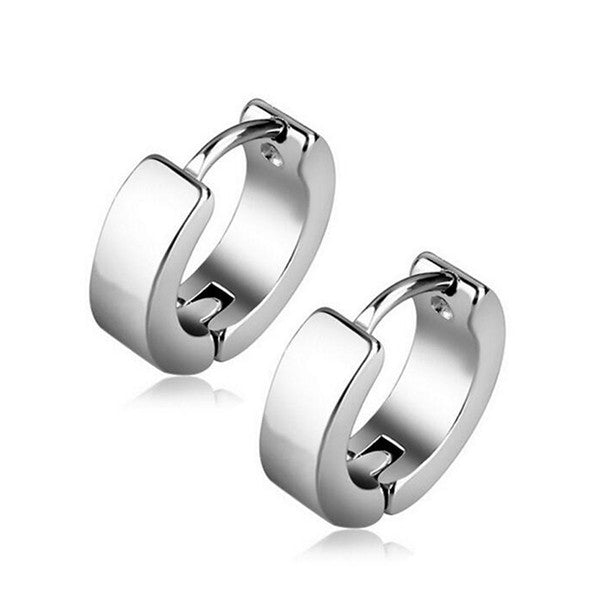 Clearance Men And Women Of Titanium Steel Ear Buckle-Rama Deals