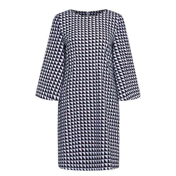 Casual Geometric Style Dress-Rama Deals