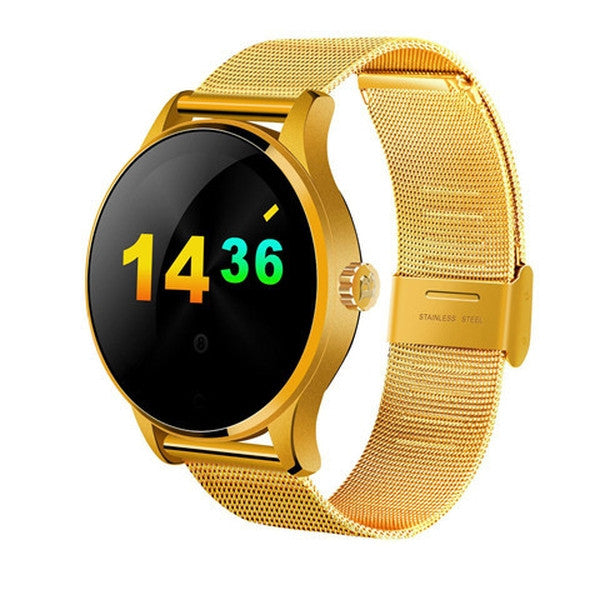Smart Watch For iOS and Android with Heart Rate Monitor and Bluetooth - Metal-Rama Deals