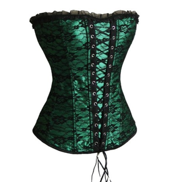 Special Green Lacy Waist Trainer-Rama Deals