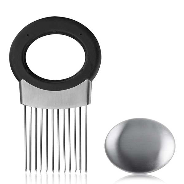 Clearance Stainless Steel Onion Holder-Rama Deals