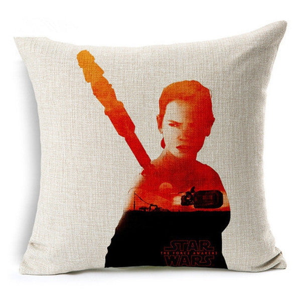 Star Wars Sofa Throw Pillows Case(Without Pillow Inner)-Rama Deals