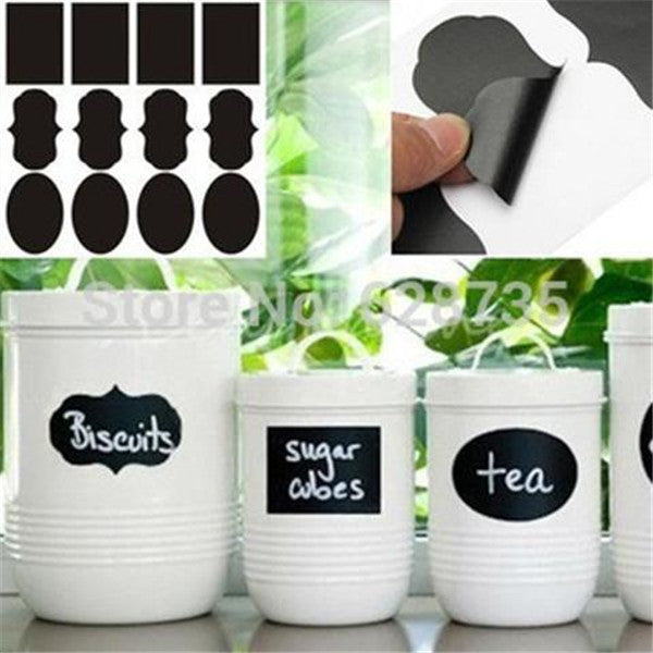24 Pc. Set Vinyl Chalkboard Labels-Rama Deals
