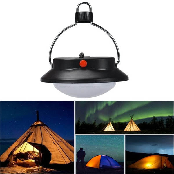 Portable Outdoor 60-LED Camping Hiking Light Tent Lamp Rechargeable Light-Rama Deals