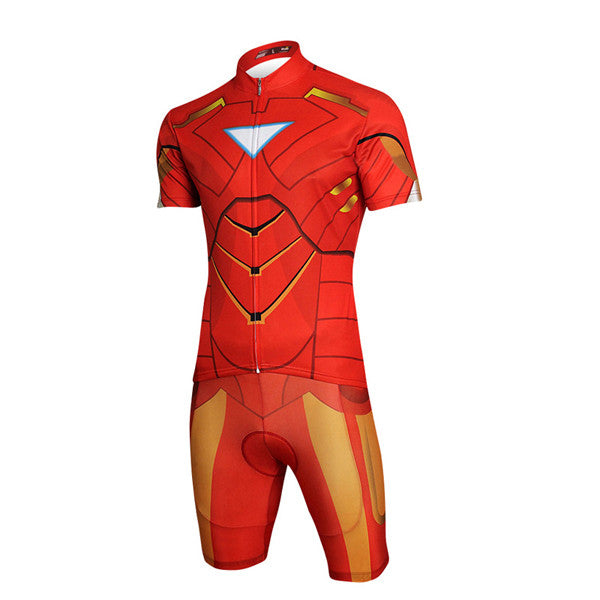 Cartoon Summer Short-sleeved Riding Suit-Rama Deals