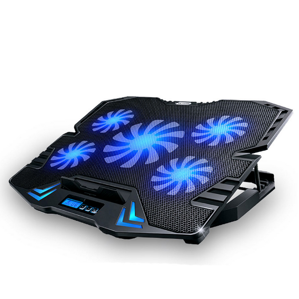 Laptop Cooling Pad with 5 Fans-Rama Deals