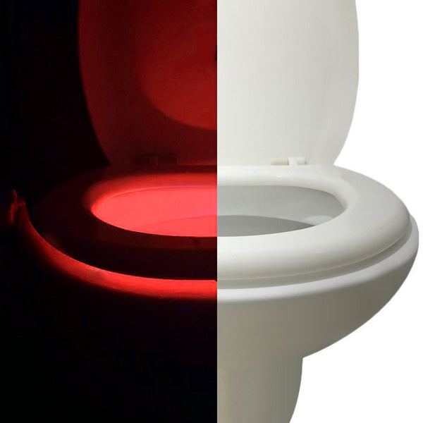 8-Color LED Sensored Toilet PotLight-Rama Deals