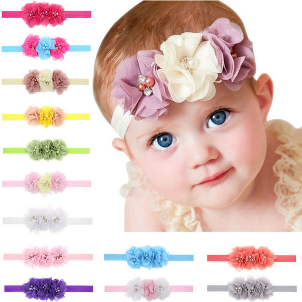 Clearance Children 3 flowers Headband-Rama Deals