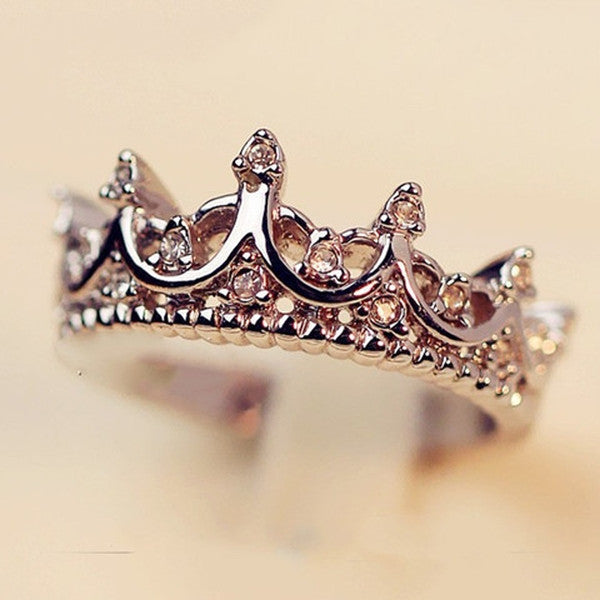 The Queen's Crown Women Ring-Rama Deals