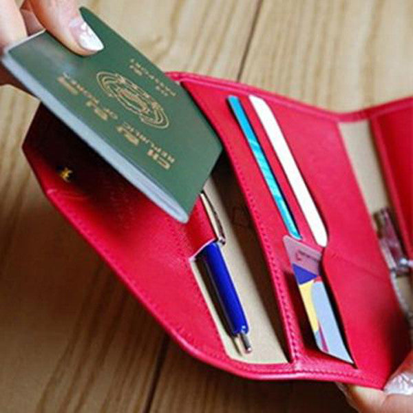 Travel Card Holder Wallet-Rama Deals