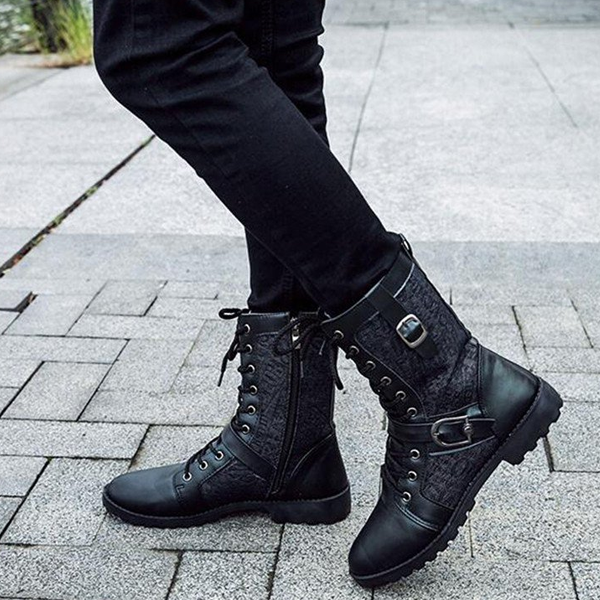 Warrior Ankle Boots-Rama Deals