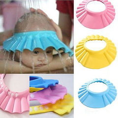 Useful Baby Shower Cap Children Wash Hair Shield Hat-Rama Deals
