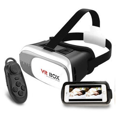 VR BOX II 2.0 3D Glasses with Bluetooth Remote - Rama Deals - 1