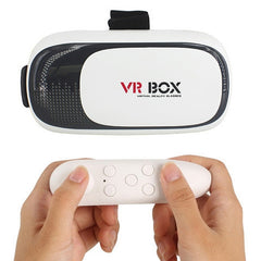 VR BOX II 2 3D Glasses+ Bluetooth Remote - Rama Deals - 1