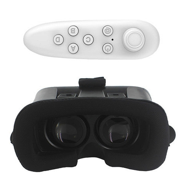 Clearance VR BOX II 2 3D Glasses+ Bluetooth Remote-Rama Deals