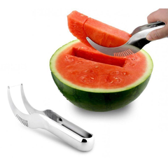 Stainless Steel Watermelon Slicer Scoop-Rama Deals