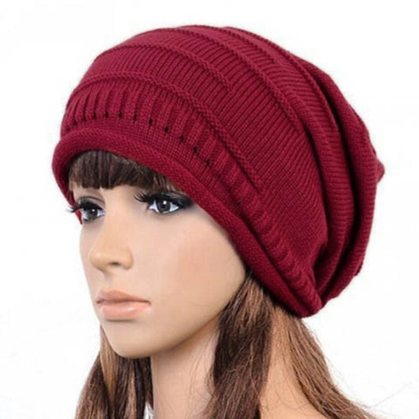 Clearance Winter Knitted Women Men Hiphop Hat-Rama Deals
