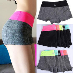 Women Sports Fitness Yoga Shorts-Rama Deals
