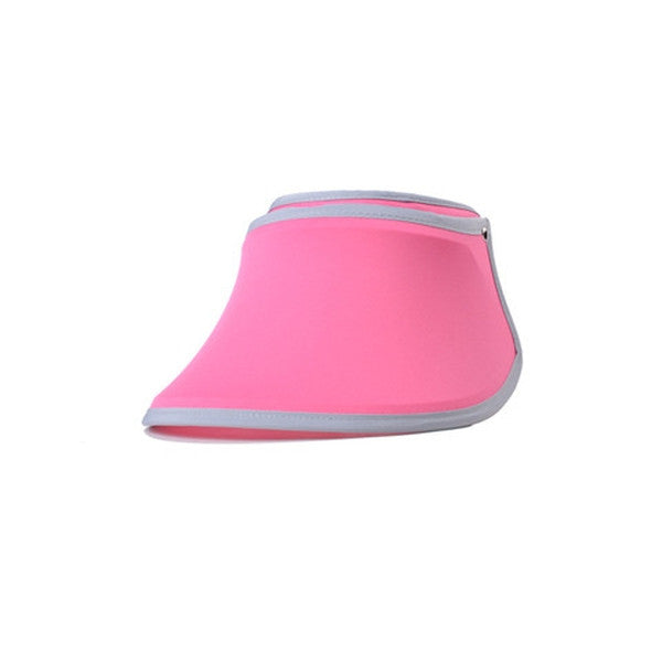 Women UV Sunscreen Retractable Folding Visor Hat-Rama Deals