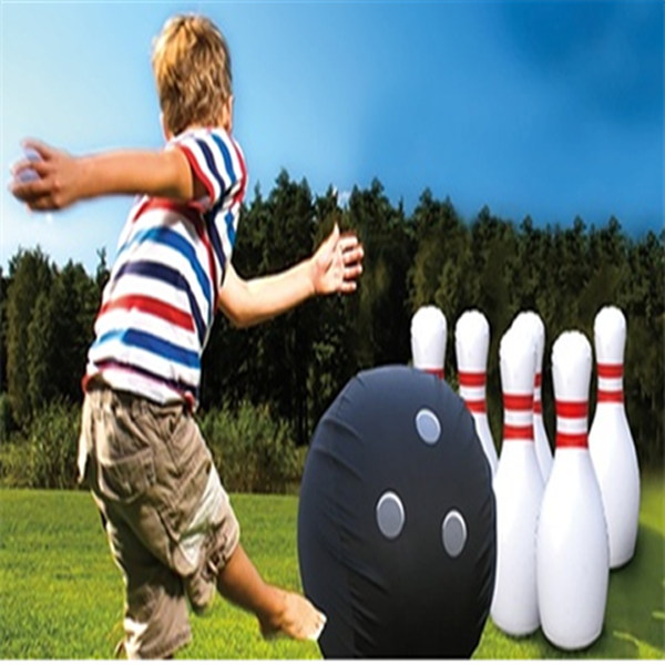 Giant Inflatable Bowling Set-Rama Deals