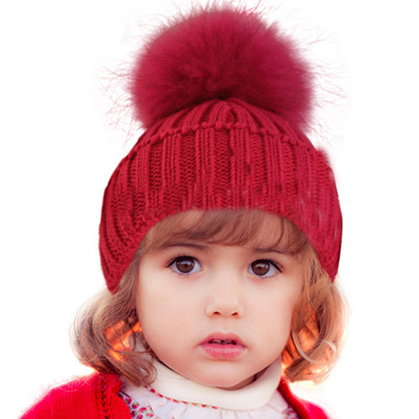 Baby Wool Winter Beanie Hat - Rama Deals - 1