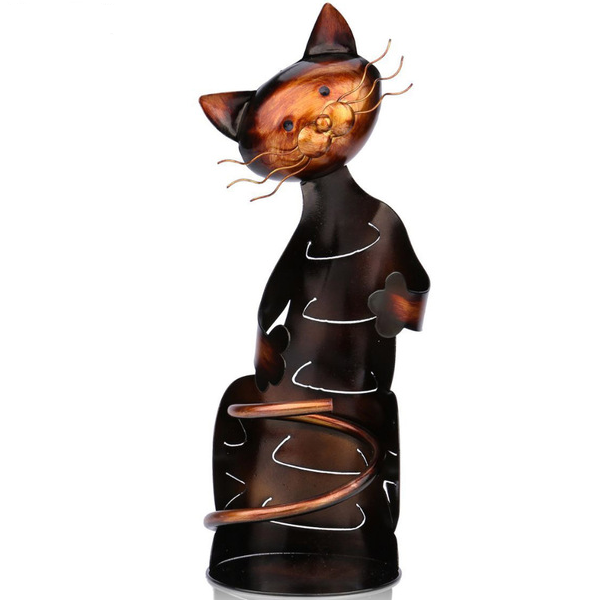 Cat Shaped Wine Holder-Rama Deals
