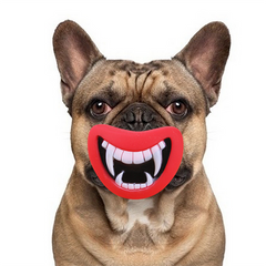 Devil Lips Dog Toys