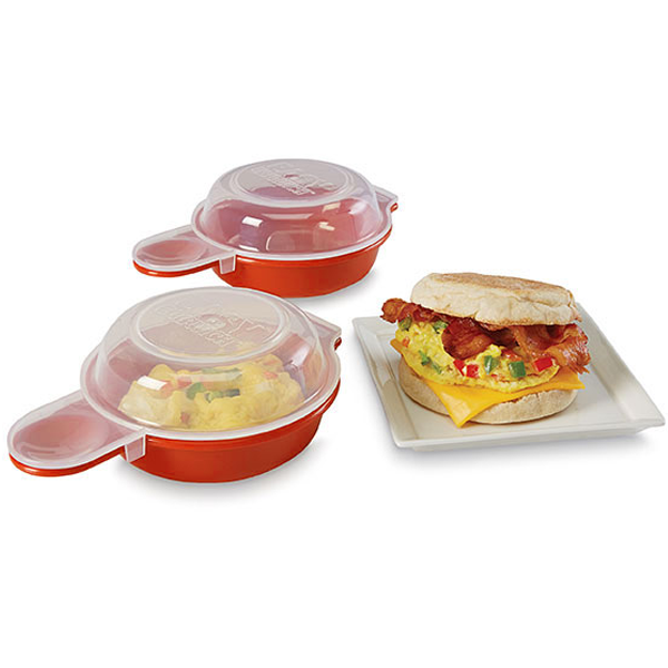 2-Pack Easy Microwave Egg Cooker-Rama Deals