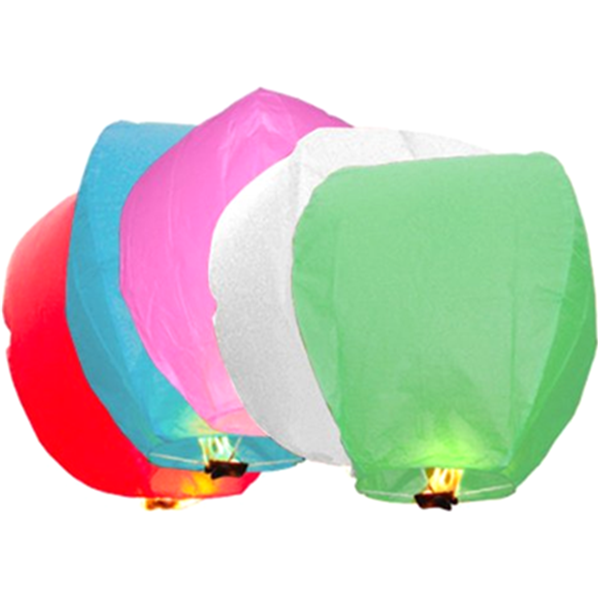 10 Pack Chinese Sky Fly Fire Lanterns-Rama Deals