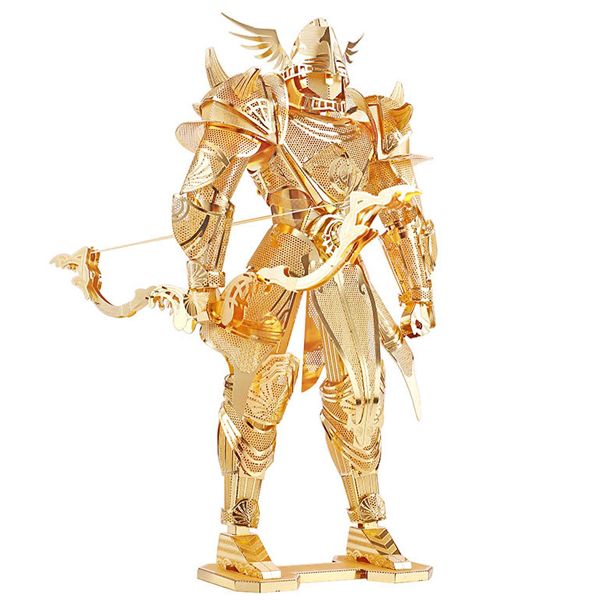 3D Gold Knight Puzzle Cutting Toy-Rama Deals