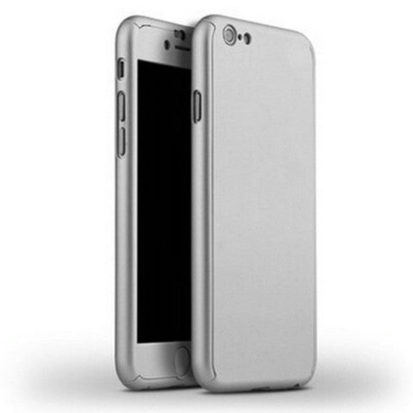 iPhone 7 & 7 Plus Hybrid 360° Hard Ultra Thin Case +Tempered Glass Cover - Rama Deals - 6