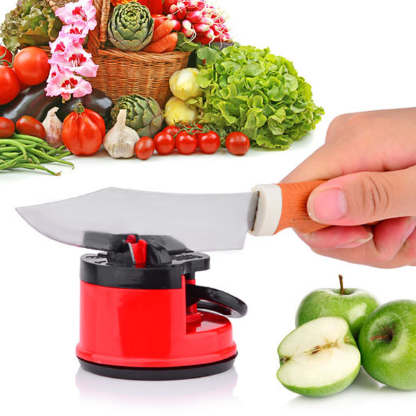 Clearance Knife Sharpener& Suction Pad Blade Sharpener-Rama Deals