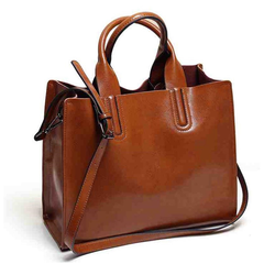 Women's Leather Shoulder Bag - Rama Deals - 1