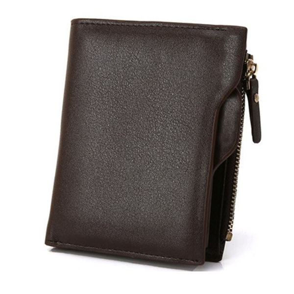Men's Wallet With Coin Bag Zipper-Rama Deals