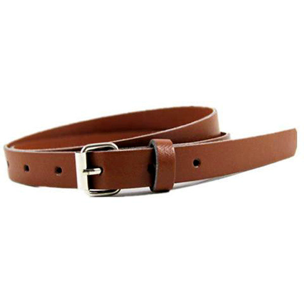 Clearance New Fashion Women's Leather Belts Thin Telt Candy Color-Rama Deals