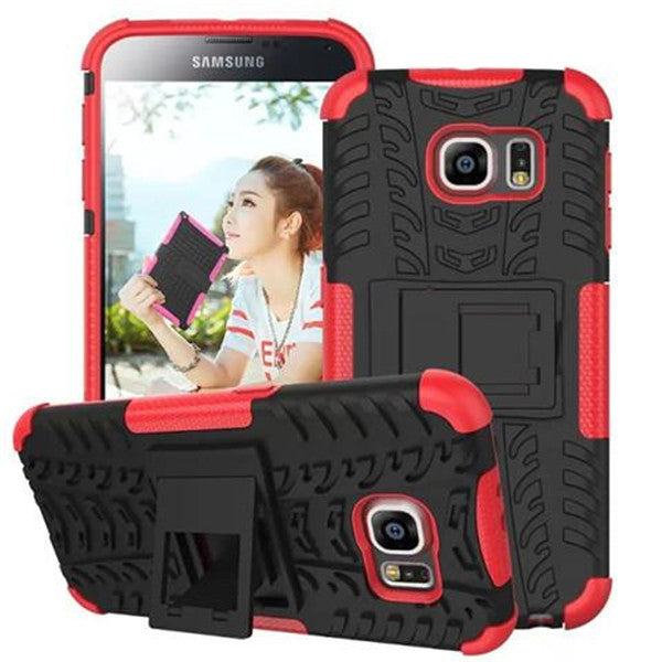 Hybrid Stand Hard Case for Samsung S6-Rama Deals