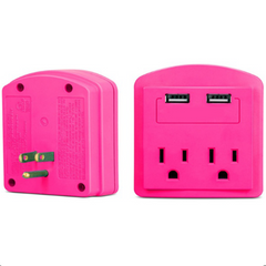 2-Outlet USB Wall Adapter-Rama Deals