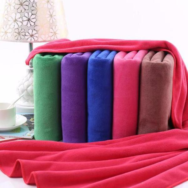 Clearance Large Absorbent Microfiber Bath Towels (2 Pack)-Rama Deals