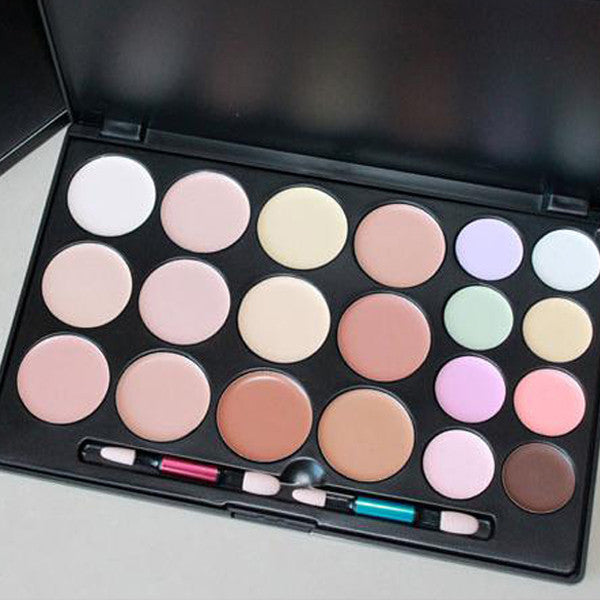 Clearance 20 Color Concealer Palette-Rama Deals