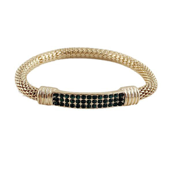 Clearance Rock Weaving Rhinestone bracelet-Rama Deals