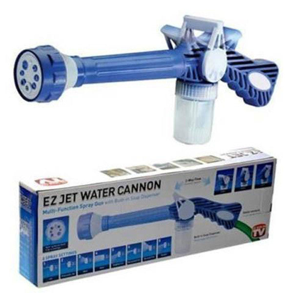 Eight-in-one Multi-function Water Gun High Pressure Spray Nozzle-Rama Deals
