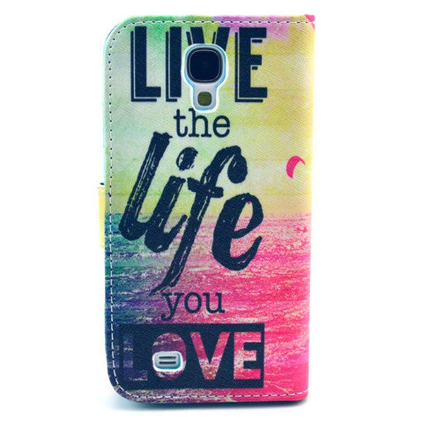 The sea life Stand Leather Case For Samsung S4-Rama Deals