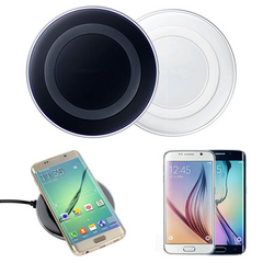 Wireless Charger Charging Pad for SAMSUNG GALAXY S6 / S6 Edge / S6 Edge Plus / S7 / S7 Edge / Note 5 - Rama Deals - 1