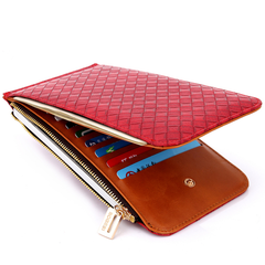 Zip Around Card Holder Smartphone Wallet for Women