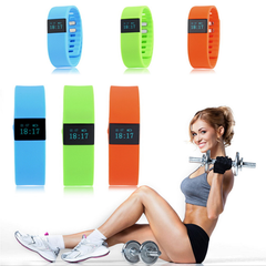 Fit-iWatch Smart Wristband Bluetooth Pedometer, Calories, Sleep