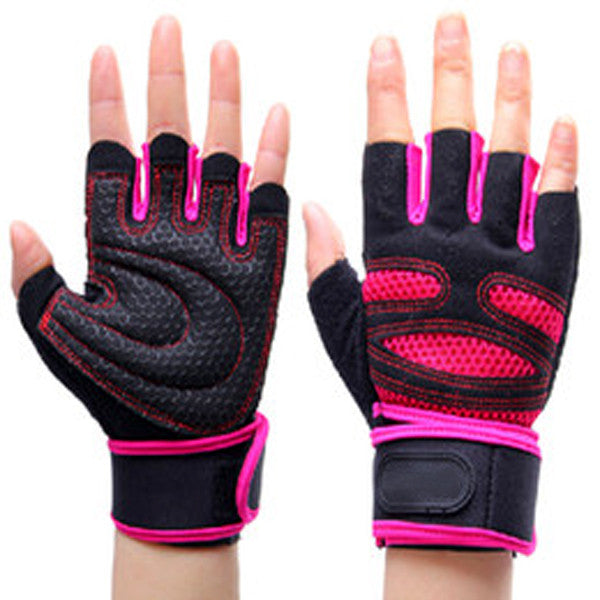 1 Pair Strong Gym Fitness Gloves-Rama Deals