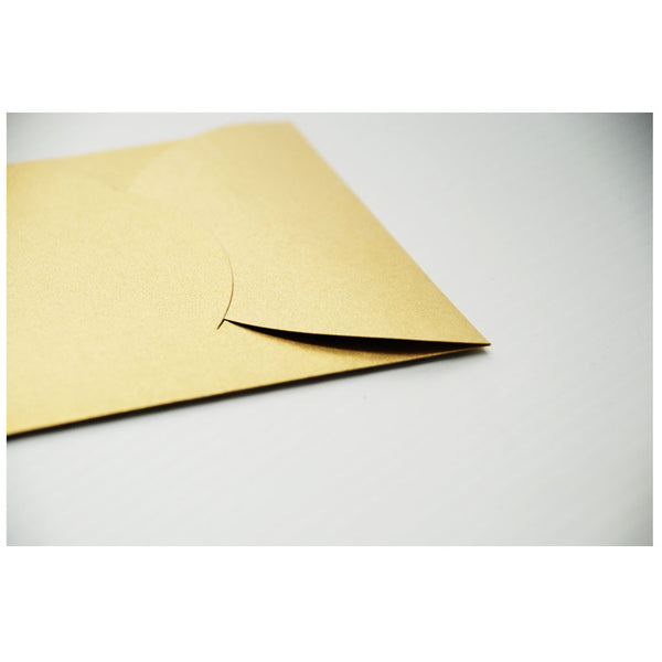 Big Gold Happy Wedding Card + Envelope (5 pack)